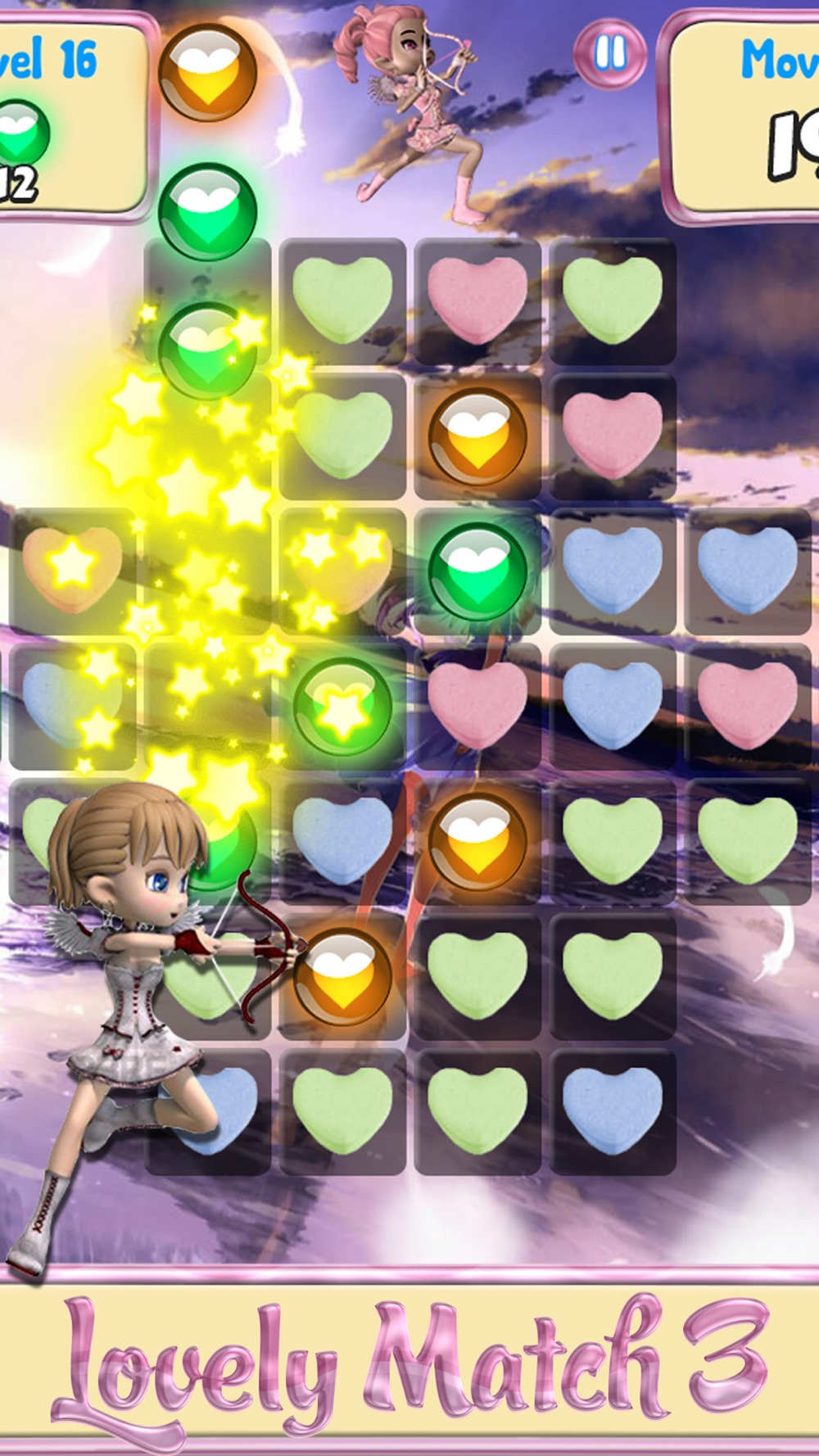 Love Girl Story – Match candy hearts for a splash of sugar Cheat Codes