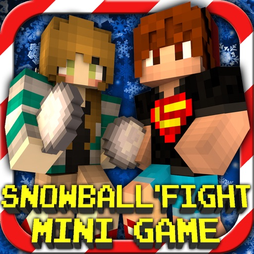 Snowball Fight : Mini Game With Worldwide Multiplayer