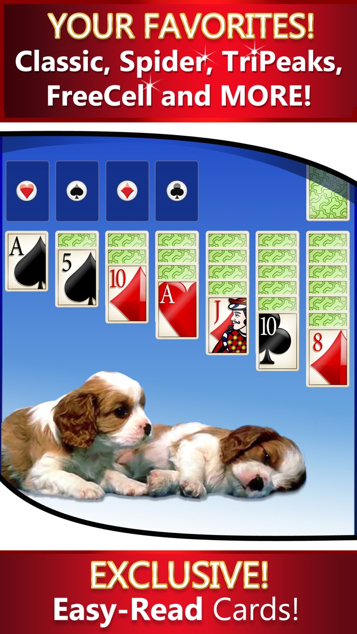 Solitaire Deluxe® 16 Pack Screenshot