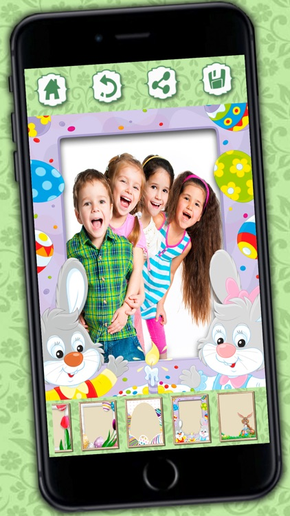 Photo editor of Easter Raster - camera to collage holiday pictures in frames screenshot-2