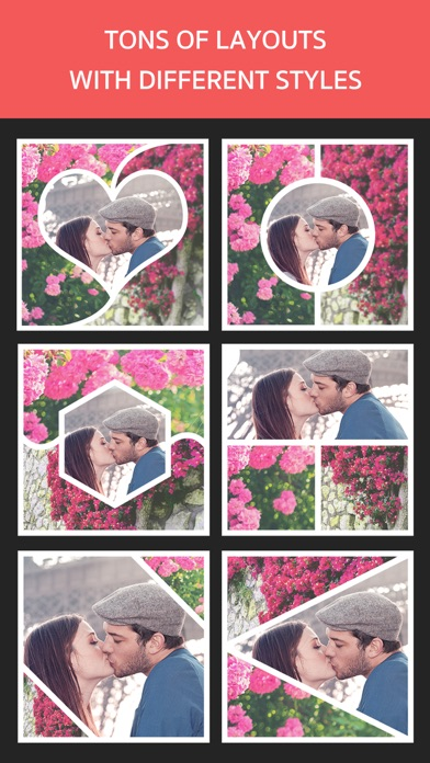 Photo Frame Editor – Perfect Picture Grid Maker screenshot two