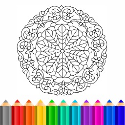 ColorShare : Best Coloring Book for Adults - Free Stress Relieving Color Therapy in Secret Garden