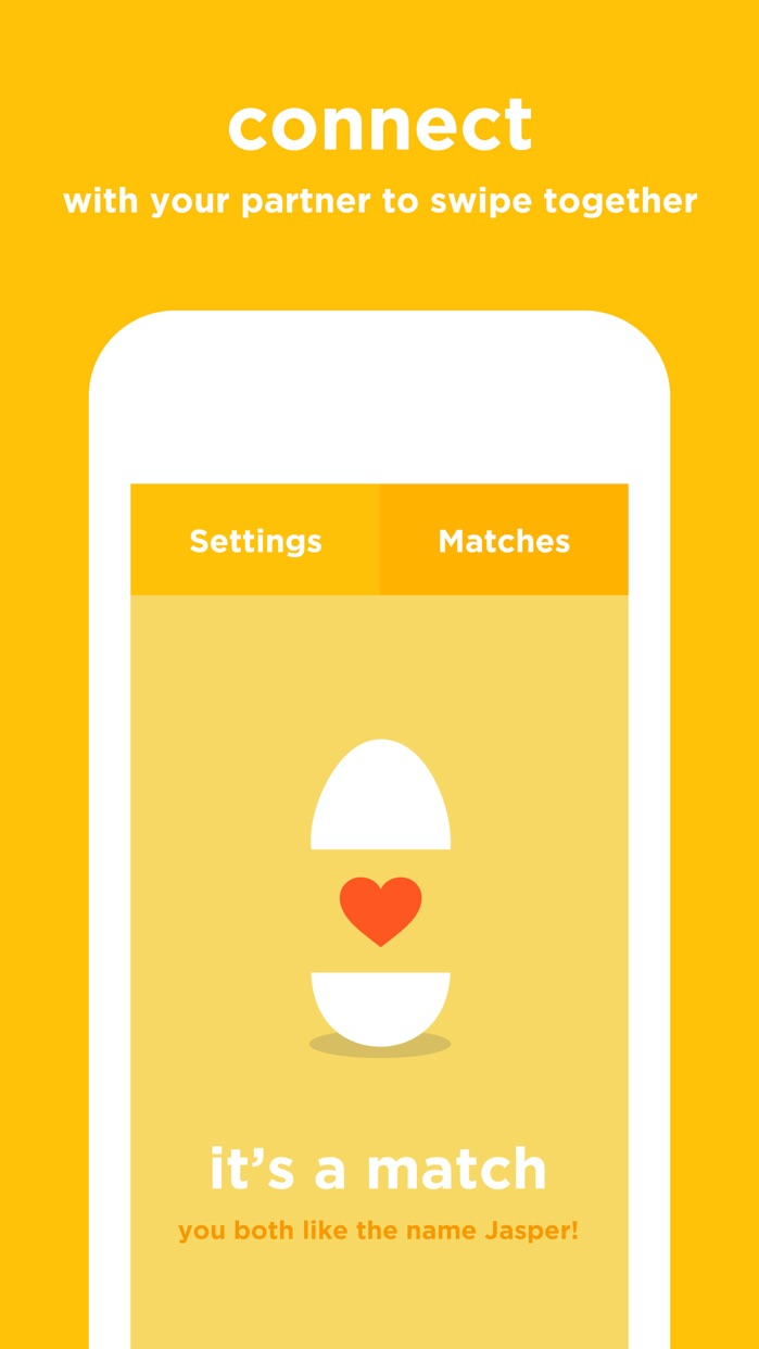 Babyname - Find your baby's name together Screenshot