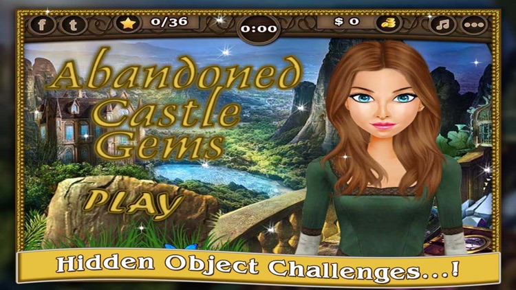 Abandoned Castle - Adventure of Hidden Objects