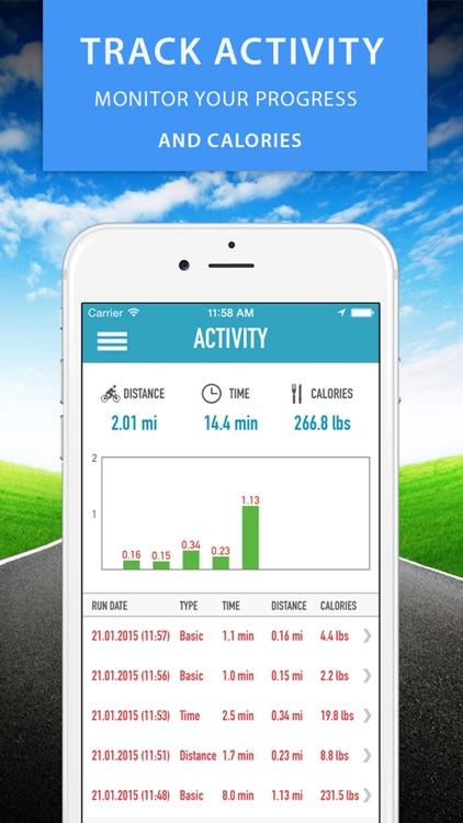 GPS Bike Computer - Cyclometer and Road Biking Calories Tracker screenshot-3