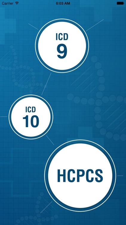 ICD9, ICD10 and HCPCS Combo