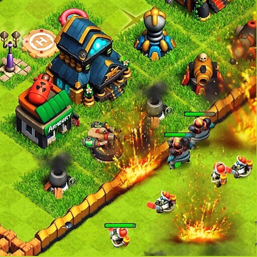 Битва Зомби – бесплатная MMO RTS стратегия