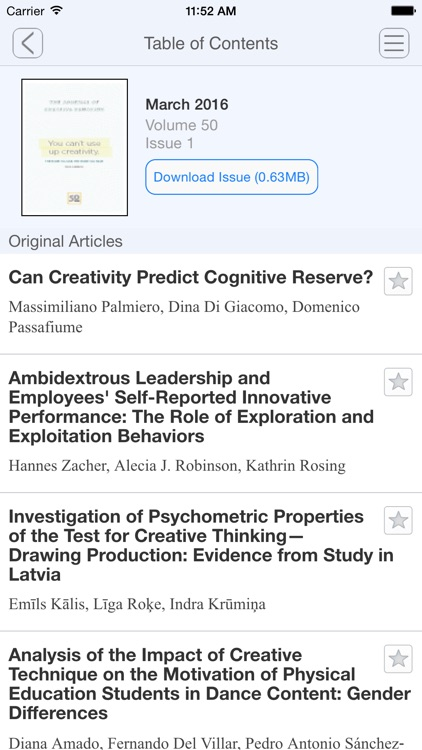 The Journal of Creative Behavior screenshot-4