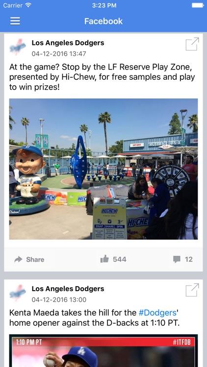 News Surge for Dodgers Baseball News Pro screenshot-3