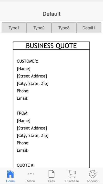 Business Quote screenshot-0