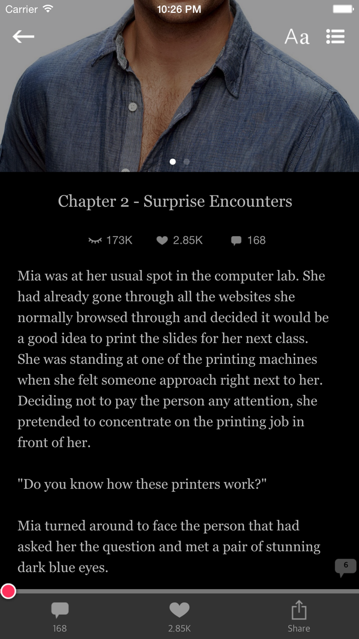 After Dark - Romance books Screenshot