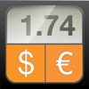 Currency Converter HD: converter + money calculator with exchange rates for 150+ foreign currencies (convert Dollars, Euros, Bitcoin and many more!)