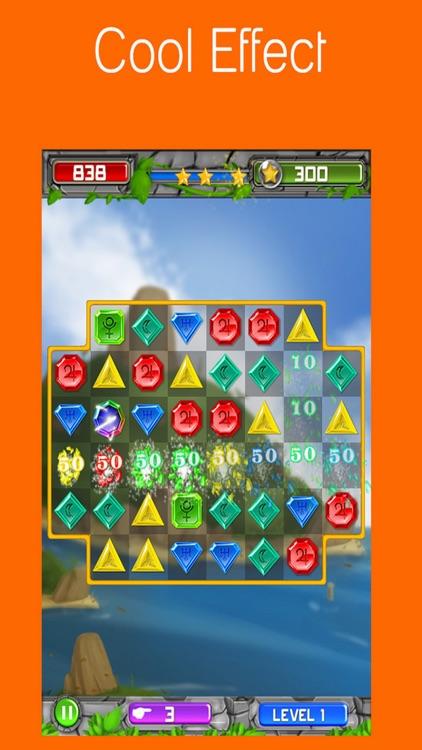 Match 3 Gem Puzzle - Jewel Quest Legend Star Free Edition