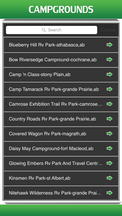 Best App for Campgrounds
