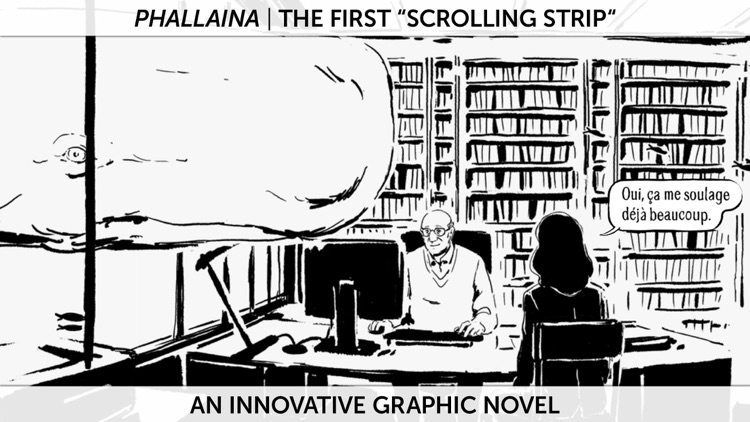 "PHALLAINA : The 1st "" scrolling graphic novel"""