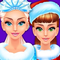 Frosty Christmas Beauty Salon - Makeover Spa Games