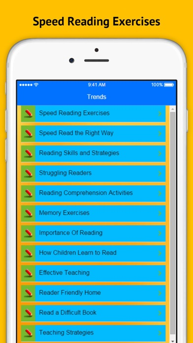 Speed Reading - Reading Skills and Strategies | App Price Drops