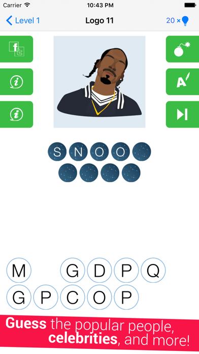 Guess The Celeb Quiz screenshot three
