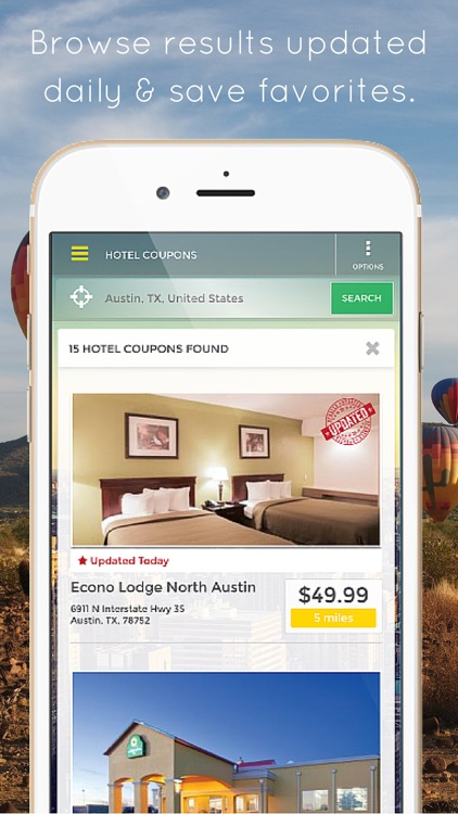 HotelCoupons.com - Best Last Minute Hotel Deals Travel App screenshot-1