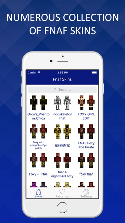 Skins for FNAF - Best Collection for Minecraft Pocket Edition