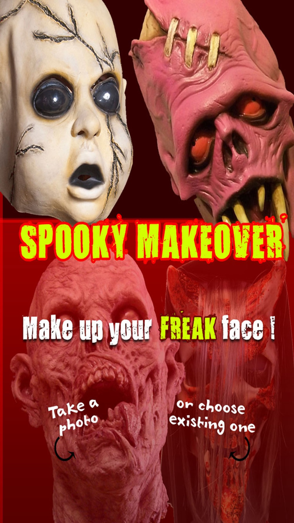 Spooky Makeover for Halloween season from photo booth Free Cheat Codes