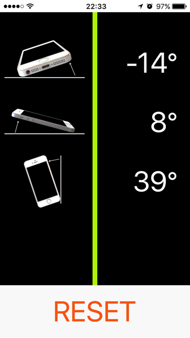 シンプル角度計 -  simple angle meterのおすすめ画像1