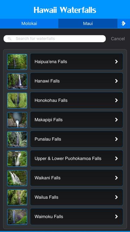 Hawaii Majestic Waterfalls
