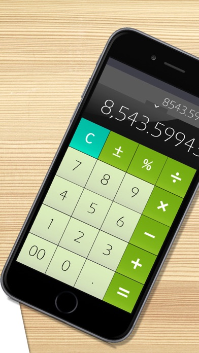 Calculator Free for iPhone屏幕截圖3