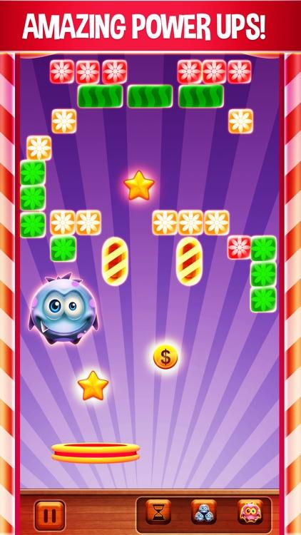 Candy Little Monster: Brick Breaker Free screenshot-4