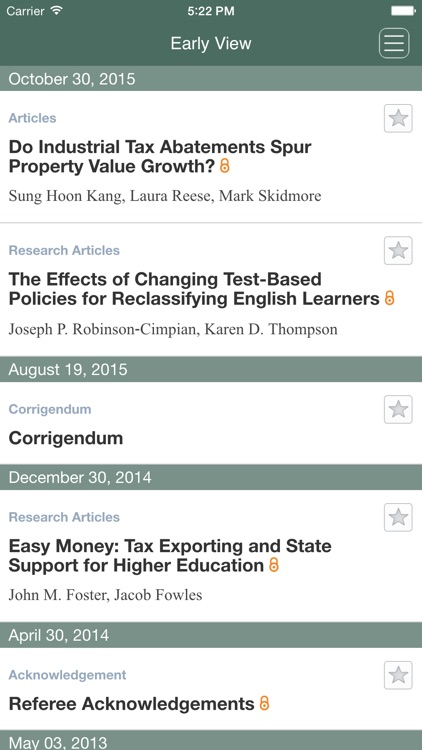Journal of Policy Analysis and Management screenshot-3