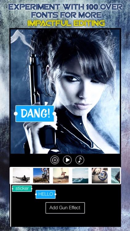 Gun FX - Add Machine Gun Effect and Muzzle FX for Youtube Action Movie Film