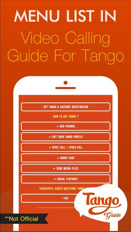 Guide for Video Calling Tango screenshot-4