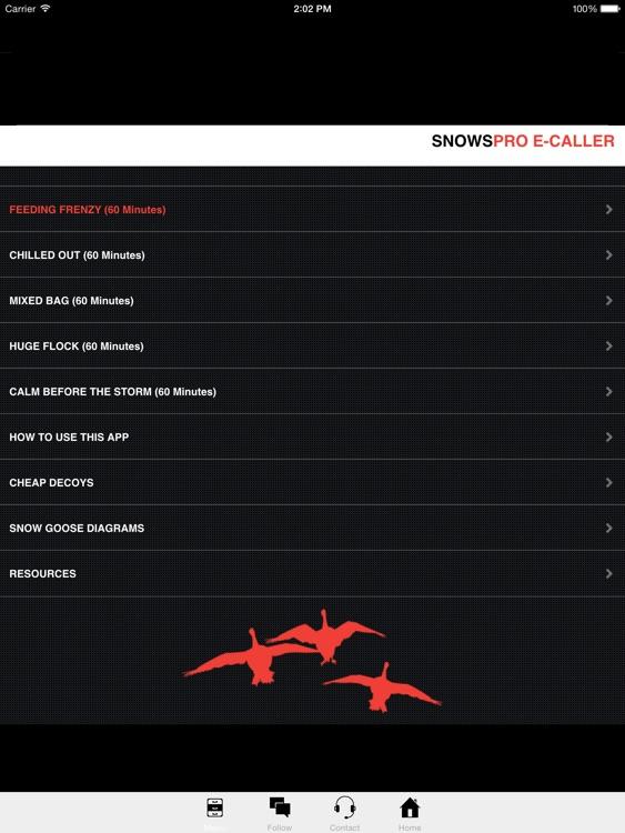 Electronic Snow Goose Call Snow Goose E Caller App screenshot-0