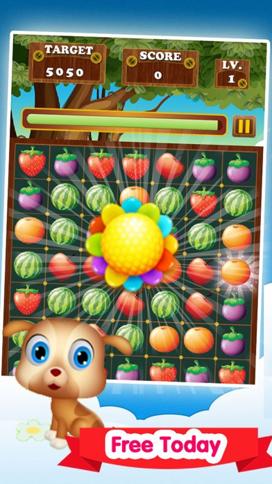 Juice Fruit Pop Blast screenshot one