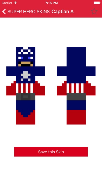 Super Hero Skins for Minecraft PE (Best Skins HD for Pocket Edition)