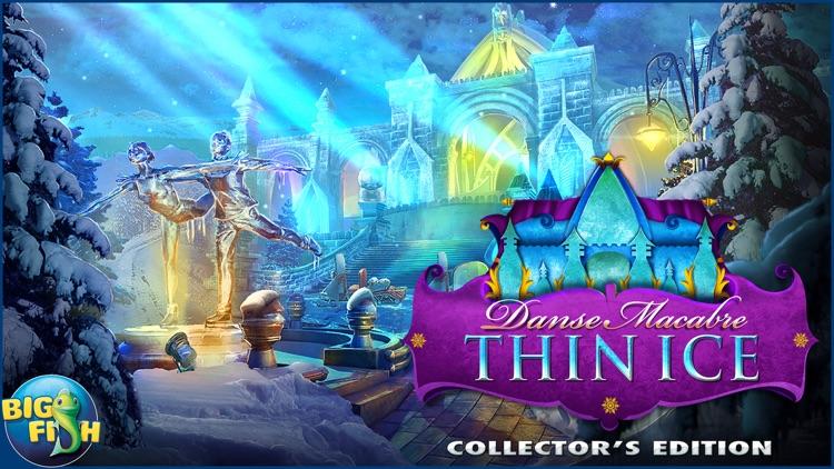 Danse Macabre: Thin Ice - A Mystery Hidden Object Game screenshot-4