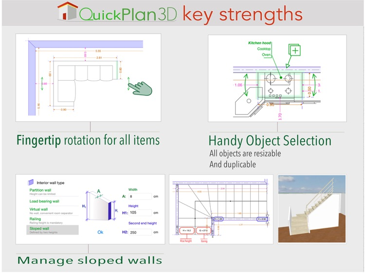 QuickPlan 3D - Design your home floor plans screenshot-4