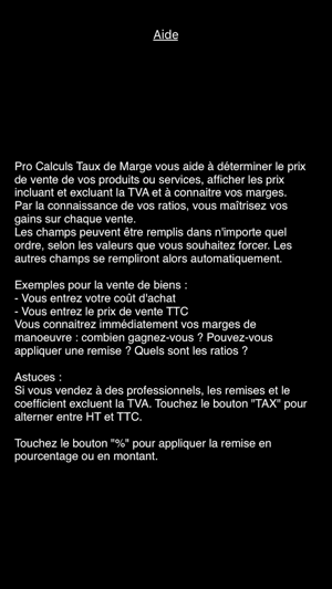 Pro Calcul Taux De Marge Dans L App Store