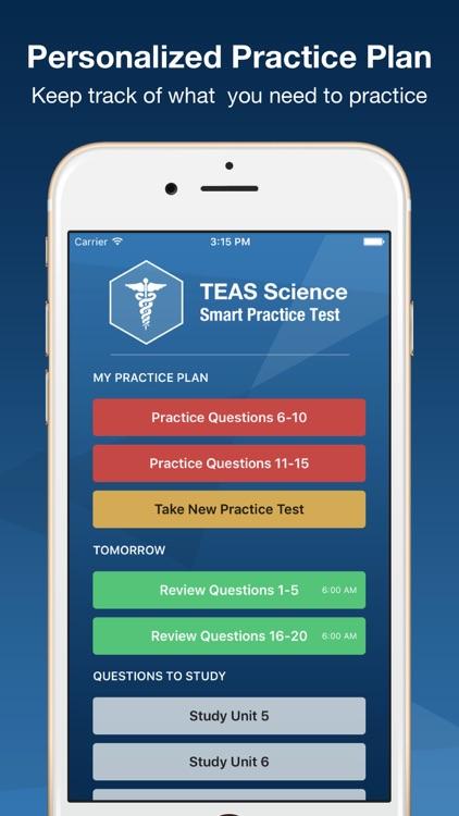 TEAS V Science Smart Prep 2016 Premium Edition screenshot-3