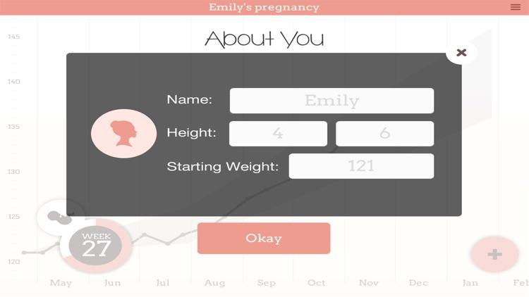 Pregnancy Weight Tracker Pro screenshot-3