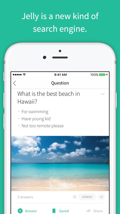Jelly — a search engine for busy people screenshot-0