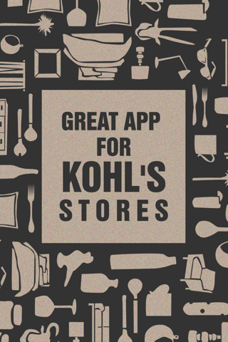 Great App for Kohl's Stores screenshot 1
