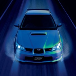 Hd Car Wallpapers Subaru Impreza Wrx Sti Edition On The