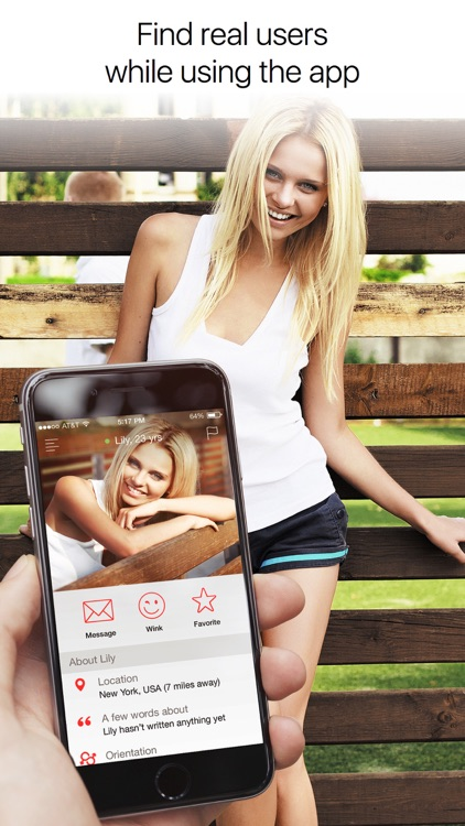 QuickFlirt – dating app to chat and meet locals
