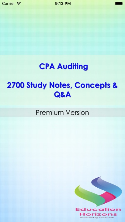 CPA Auditing Q&A Exam review 2700 Study Note