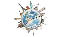 World - Time - Clock - FREE