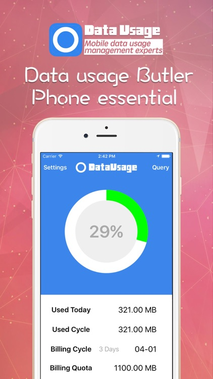 Data Usage (Track your mobile data usage and save money)