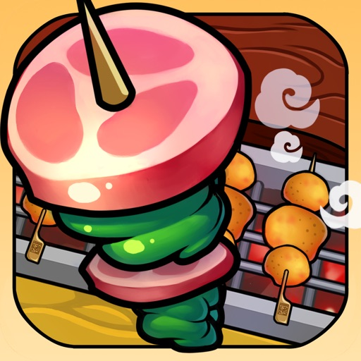 Happy BBQ-cute trivia casual puzzle game,no iap,no ads(ad-free)