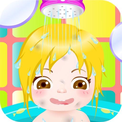 счастливый ребенок ванна игра HD - Самые горячие ребенка заботливые и купание игры для девочек и девушек!