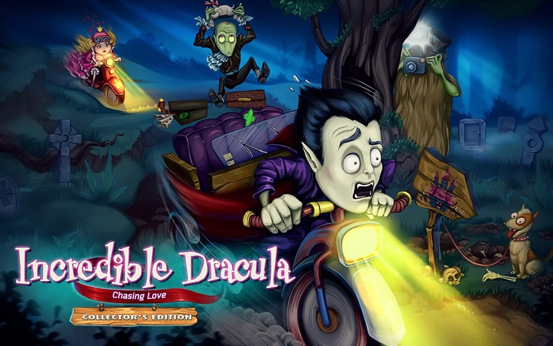 Incredible Dracula: Chasing Love Collector's Edition screenshot 1